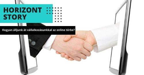online térbe állás online oktatás